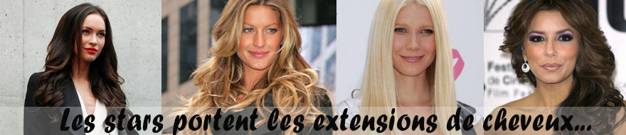 Extension de cheveux star