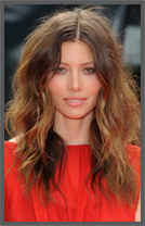 Extension de cheveux ombré hair Jessica Biel