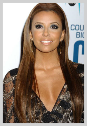 Eva longoria Extension de cheveux