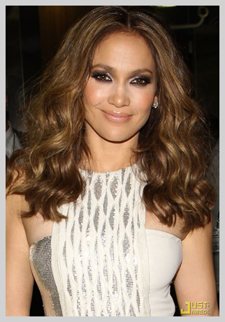Jennifer Lopez Extension de cheveux