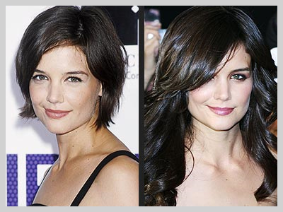 Katie Holmes Hair Extensions on Katie Holmes Extension Cheveux