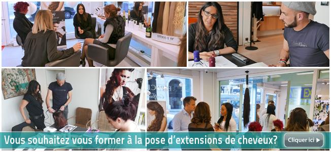 Coiffeur specialiste extension cheveux